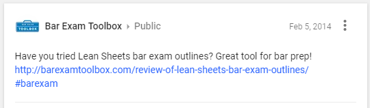 TESTIMONIALS - Bar Exam Outlines - Leansheets com