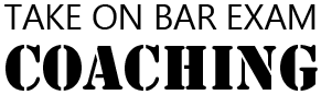 Take On Bar Exam Coaching recommends Lean Sheets